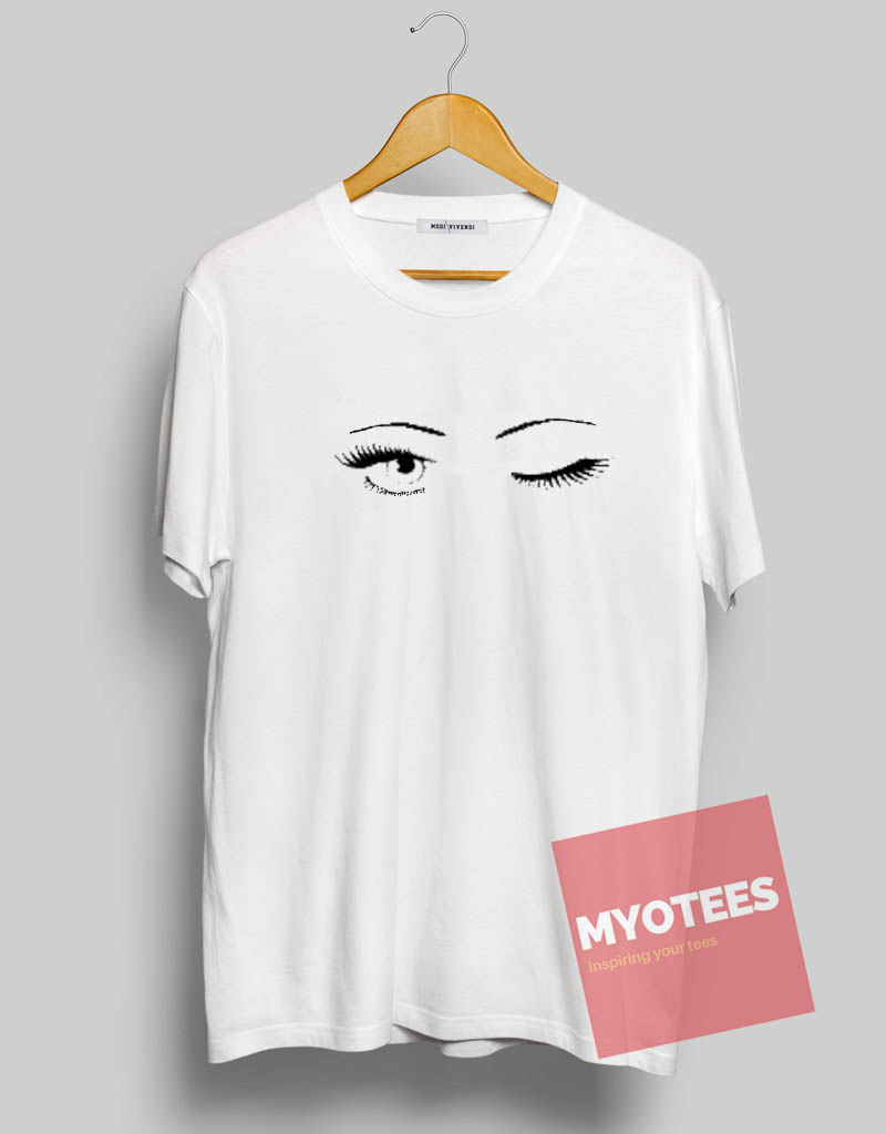 Blink Eyes Mascara Unisex T Shirt | MY O TEES