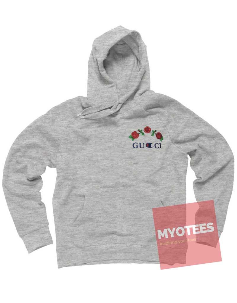 gucci champion hoodie. rose champion unisex adult hoodie gucci