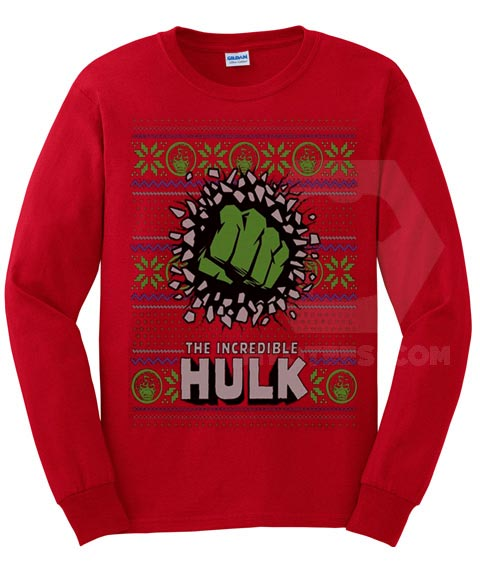 The Incredible Hulk Ugly Christmas Sweatshirt
