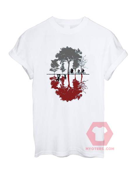 Cheap Custom Tees Stranger Things Looking for the Upside Down